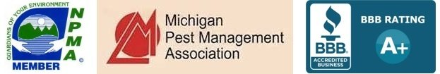 michigan pest control association, better business bureau, national pest control association member